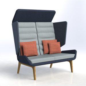 Aden Acoustic Sofa