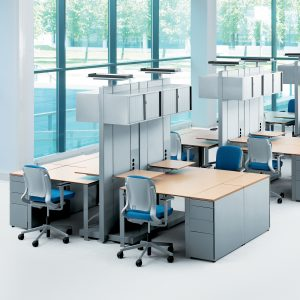 Ahrend 700 Desk with or without castors