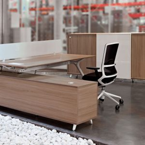 Arkitek Office Desk Return