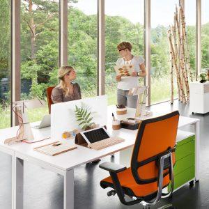 Attention 4 Height Adjustable Bench Desks