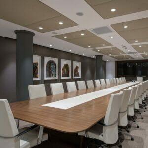 Bespoke meeting AV Tables