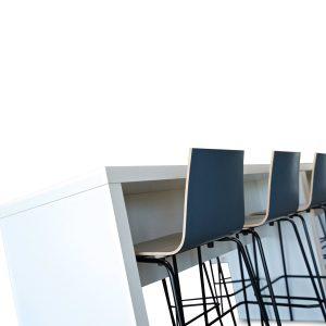 Block Colour Poseur Table