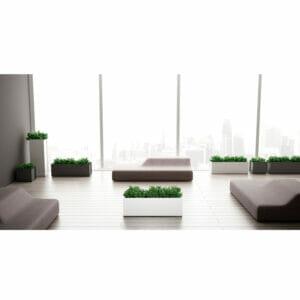 Crepe Office Plant Pots