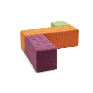 Cube Quilted Stools