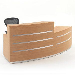 Evolution Eclypse Curved Reception Desk
