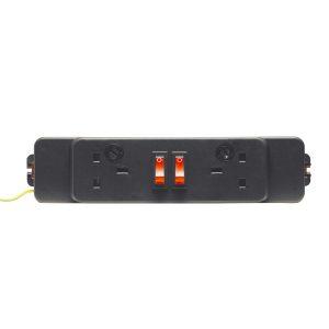 Elite 2x UK Power Socket Module