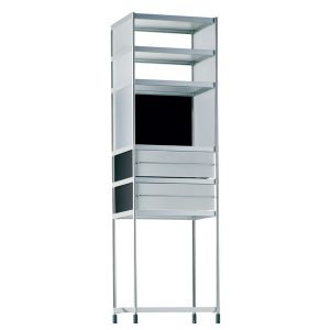 SEC Tower with drawers and shelves