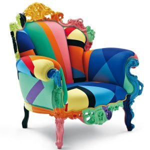 Proust Geometrica Armchair by Cappellini