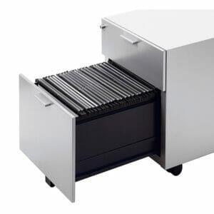 Flex 1 box dawer + 1 file drawer pedestal