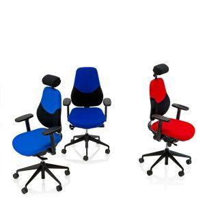 Flo High Back Office Chairs FLO-HBAH