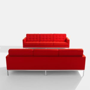 Florence Knoll Sofa and Armchair