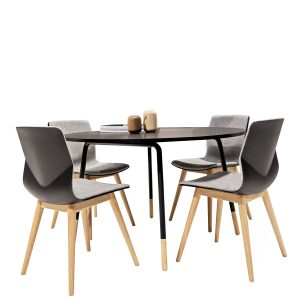 FourSure Wood Chair