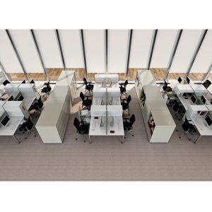 Vertical File Unit H1100 Desk Side Pedestal
