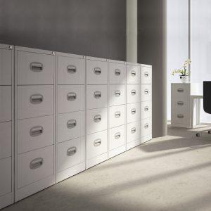 Midi Filing Cabinet by Silverline