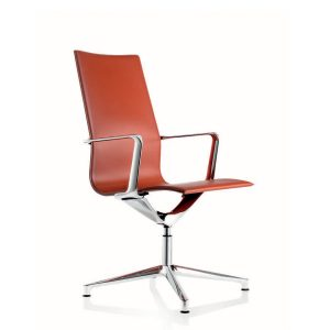 Kuna Leather Meeting Chairs