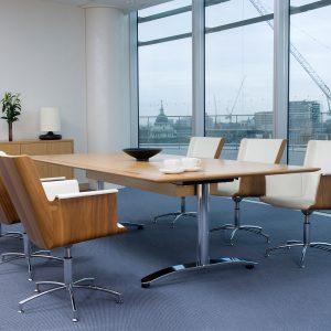 Crome Folding Table