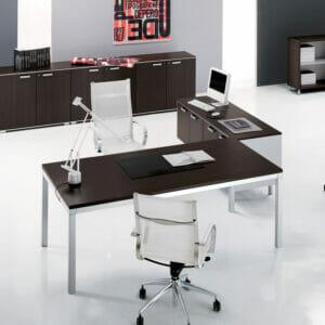 Link Executive Modular Glass Desk