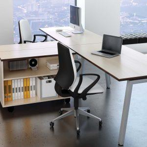Linnea Single Bench Desks by Elite