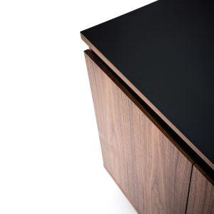 Martin Credenza Storage Unit With Blue Shadow Gap