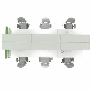 Futuro Bench Desk System