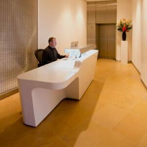 Mono Reception Desk in Office