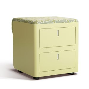 Cbox pedestal with seat pad