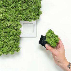 Nordgröna Pixel Moss