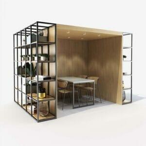 Novus booth - modular solution