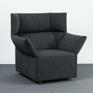 Origami Easy Chair with Poof