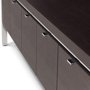 Parallel Executive Desk with modesty panel