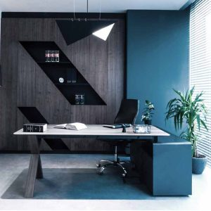 Partita Wooden Office Desk