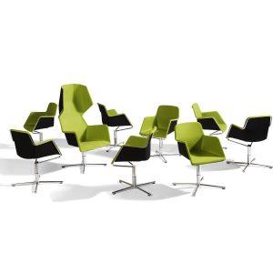 Peekaboo Swivel Chair O43