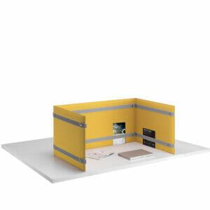 Pli Desk Divider Privacy Screen
