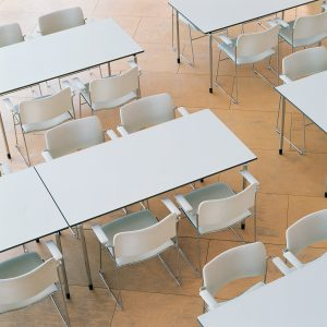 Plico Stacking and Folding Tables