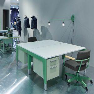 Prouvé RAW Office Bench Desk