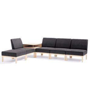 Qvarto Seating S10M with L10 Table