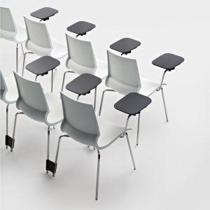 Ricciolina Chairs Stacked