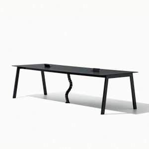 Salinero 1003 table with white top