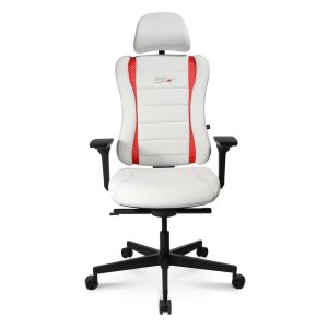 Sitness RS Pro Gaming Chair Black With Red Stripes