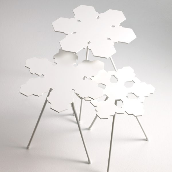 Snowflakes Tables by Offecct