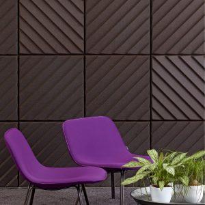 Soundwave Stripes Decorative Acoustic Wall Panels