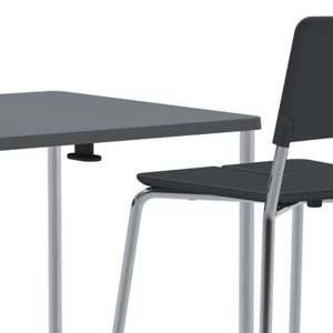 Split Chair and Table
