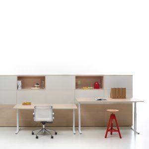 Stand Up T-Leg Adjustable Desk
