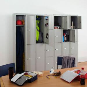 CLK Storage Lockers with Wardrobe Unit