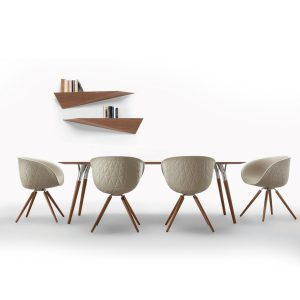 Structure Wood Chairs