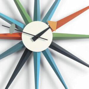 Sunburst Wall Clock by George Nelson