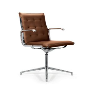 Taylord Leather Meeting Chairs