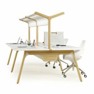 Thinking Quietly Bench Desking
