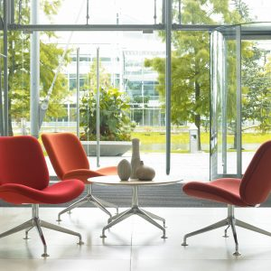 Track Lounge Swivel Chairs