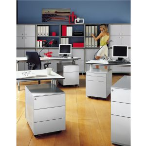 Universal Mobile 420 1 box drawer + 1 file drawer + 1 stationery drawer